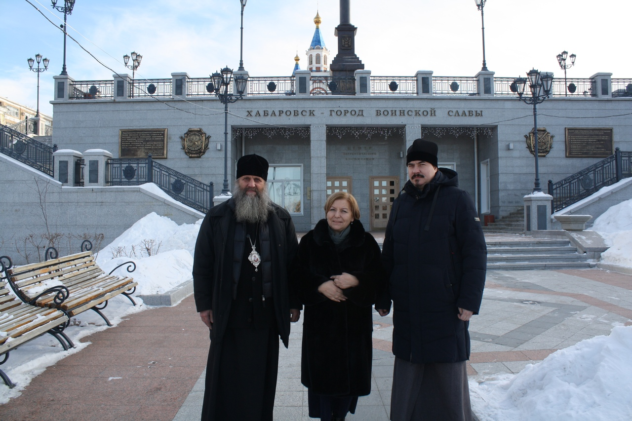 Архипастырский визит в Градо-Хабаровский собор Успения Божией Матери